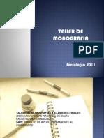 Taller monografías