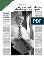 ENTREVISTA CON EKAI CENTER EN EL DIARIO DEIA (1) - INTERVIEW WITH EKAI CENTER IN DEIA (1) (Spanish) - EKAI CENTERREKIKO ELKARRIZKETA (1) (Espainieraz)