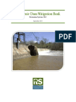 Milburnie Dam Removal Project Prospectus