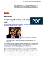 Men's Lib - Print View - The Daily Beast