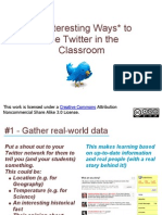31 Interesting Ways to Use Twitter in the Clas