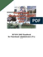 Handbook for Functional Administrator (V105)