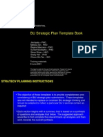 BU Strategic Plan Template Book