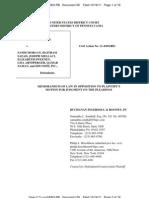 Eagle v. Edcomm, 11-Cv-04303 (E.D. Pa.; Sept. 21, 2011) (Opposition to MTD Counterclaims)