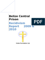 Kolbe Recidivism Report 2009-2010