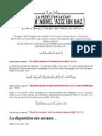 Biographie Ibn BAZ
