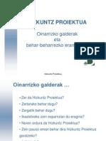 Hizkuntza Proiektua Sentsibilizazioa