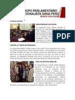 Bancada Nacionalista Gana Perú - Boletin Nº 02