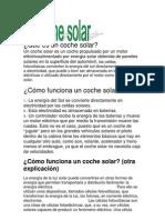 El Coche Solar
