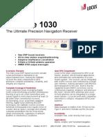 2004 Sat Mate 1030 Sheet With Logo