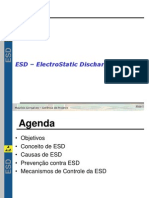 ESD Training Descarga Eletrostatica