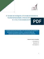 Canasta de  bienes territoriales para el desarrollo de Canelones, Uruguay