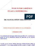 DISMINUCIÓN DE F y As con Precipitación