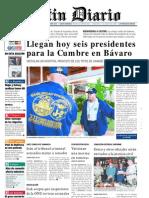 Primera Plana Listin Diario 14-11-2002