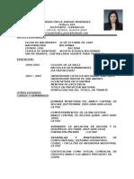 Curriculum Indira