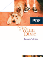 Becasue of Winn Dixie