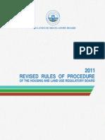 Hlurb-br 871 2011 Rules of Procedure