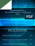 Presentacion de Los Alumnos