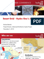 Smart Grid - Hydro One's Approach