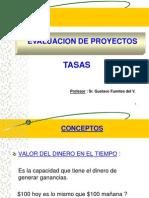 Clases Ev. Proy - Tasas