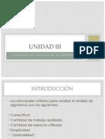 UNIDAD III Estructura de Datos