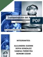 Pwp Contaminacion Del Agua Presentacion