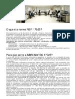 NBR 17025