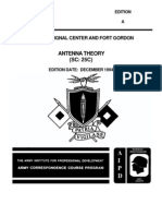 US Army Electronics Course - Antenna Theory SS0131