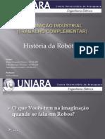 História da Robótica