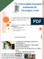 Estandares de calidad en atencion prenatal