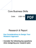 Core Business Skills
