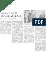 Análisis de la universidad actual _profesor Jorge Millas