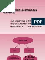 Unsur Hara Makro Karbon (C) Dan
