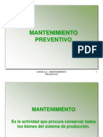 Mantenimiento Preventivo 2009