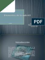 Elementos de La Web 4.0