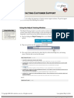 Sales Force Customer Support Cheatsheet
