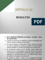 REMATES CAPITULO 26