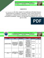 Plan de Mejoramiento 2011