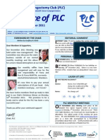 The Voice of PLC Nov-Dec 2011 Newsletter