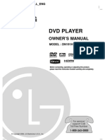 LG DN191H DVD Player Manual
