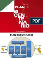 Plan Bicentenario, El Peru hacia el 2021 - Presentacion.