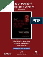 [Morrissy & stein Atlas of Pediatric Orthopaedics Surgery (3rd Edition)