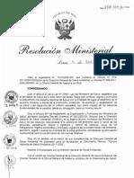 RM258-2011-MINSA Politica Nacional de Salud Ambiental 2011-2020.