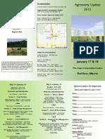 489 Agronomy Update 2012 Brochure