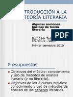2.- Introducción a la teoria literaria