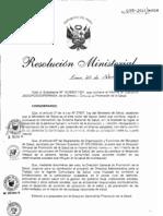 Rm299-2011-Minsa DA174-Minsa, Directiva para el Trabajo con Agentes Comunitarios de Salud.