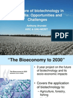 956.the Future of Biotechnology in Australia