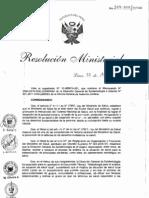 RM329-2011MINSA Metodologia para el Analisis de Situacion de Salud Local.