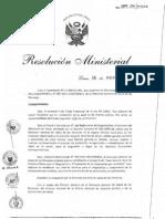 RM389-2011-MINSA Guia de Practica Clinica para el Diagnostico y Tratamiento de la Intoxicacion por Arsenico.