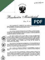 RM464-2011-MINSA Modelo de Atecion Integral de Salud (MAIS) Basado en Familia y Comunidad.